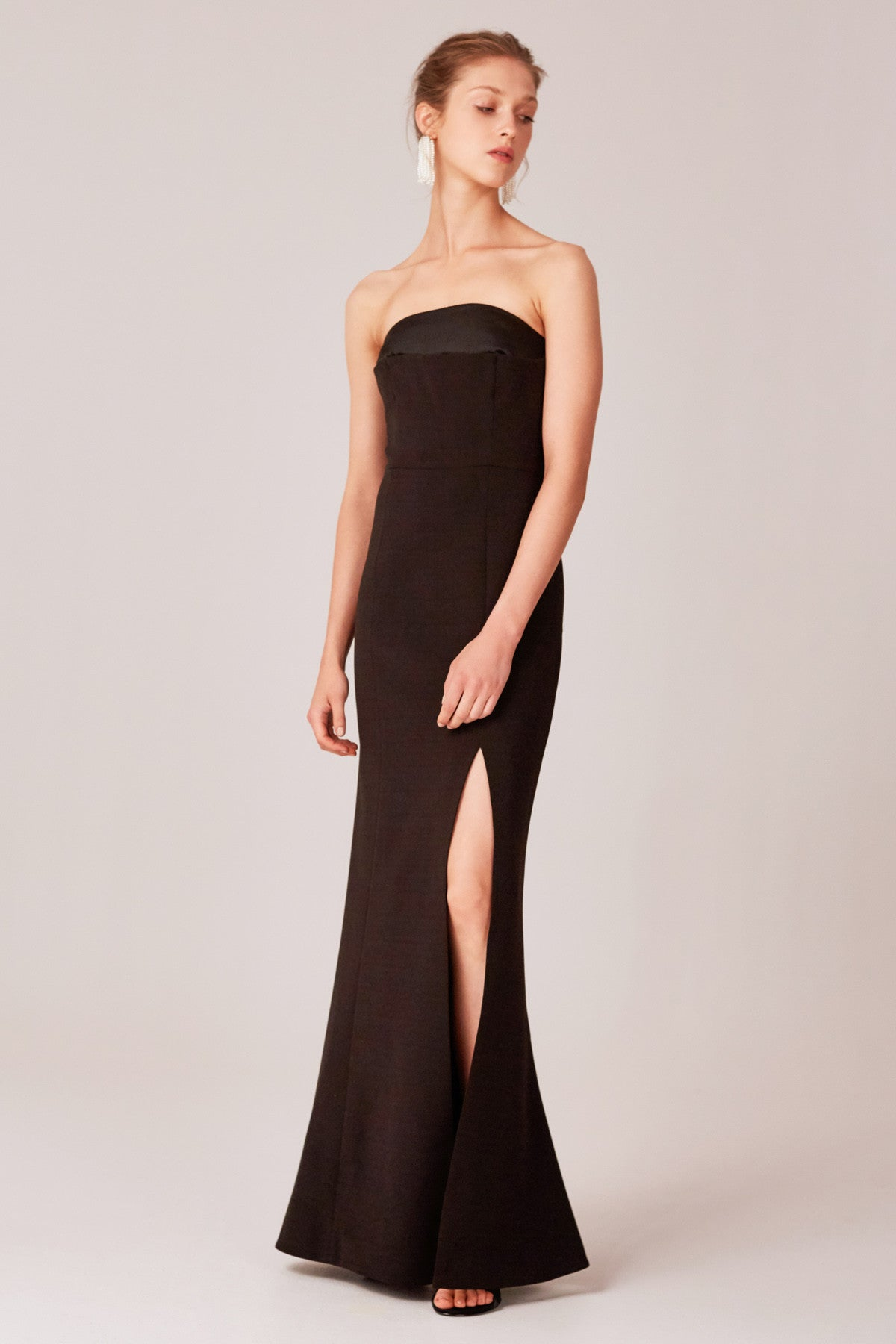NEXT STEP GOWN black