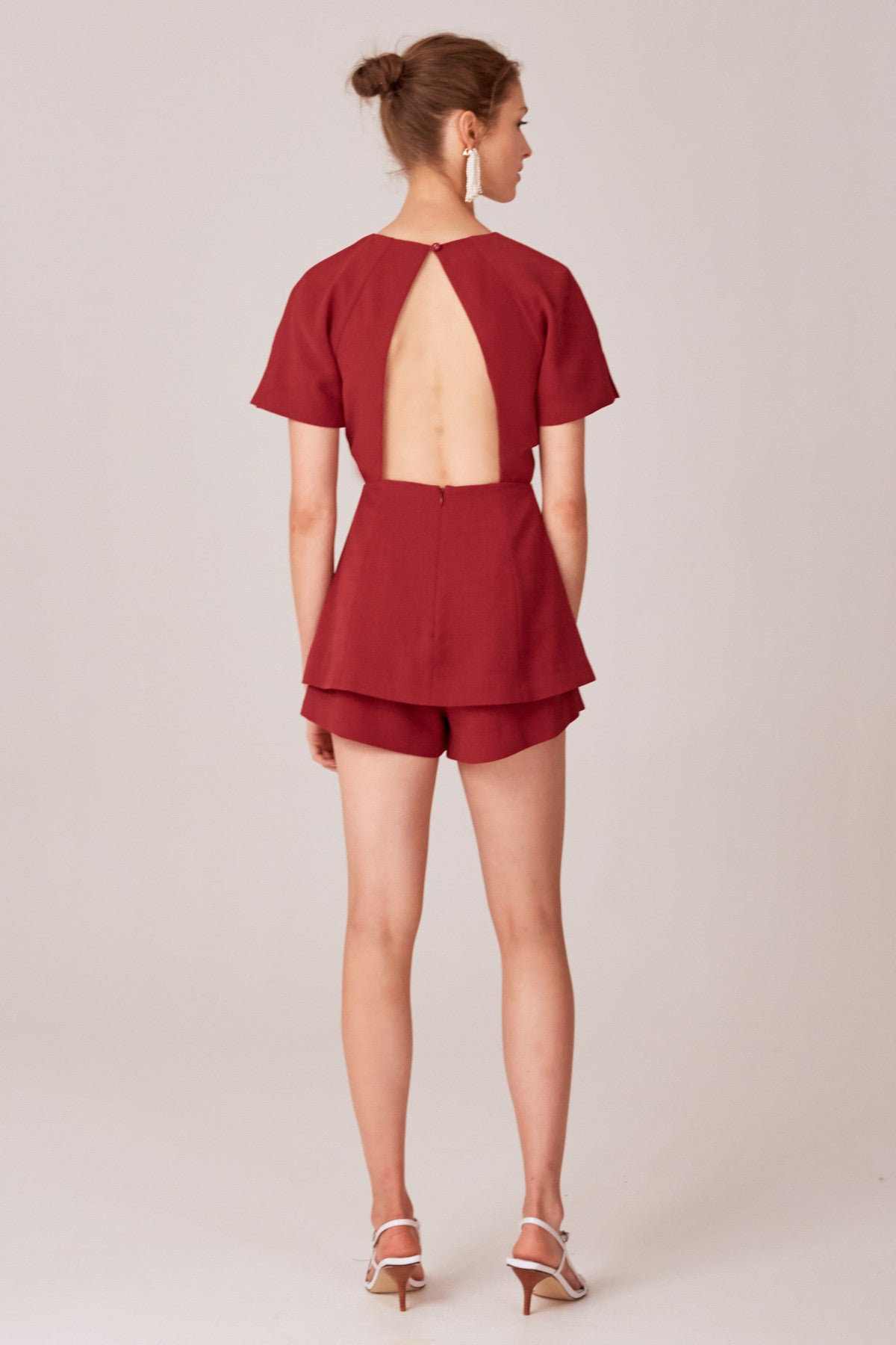 NEXT STEP PLAYSUIT berry