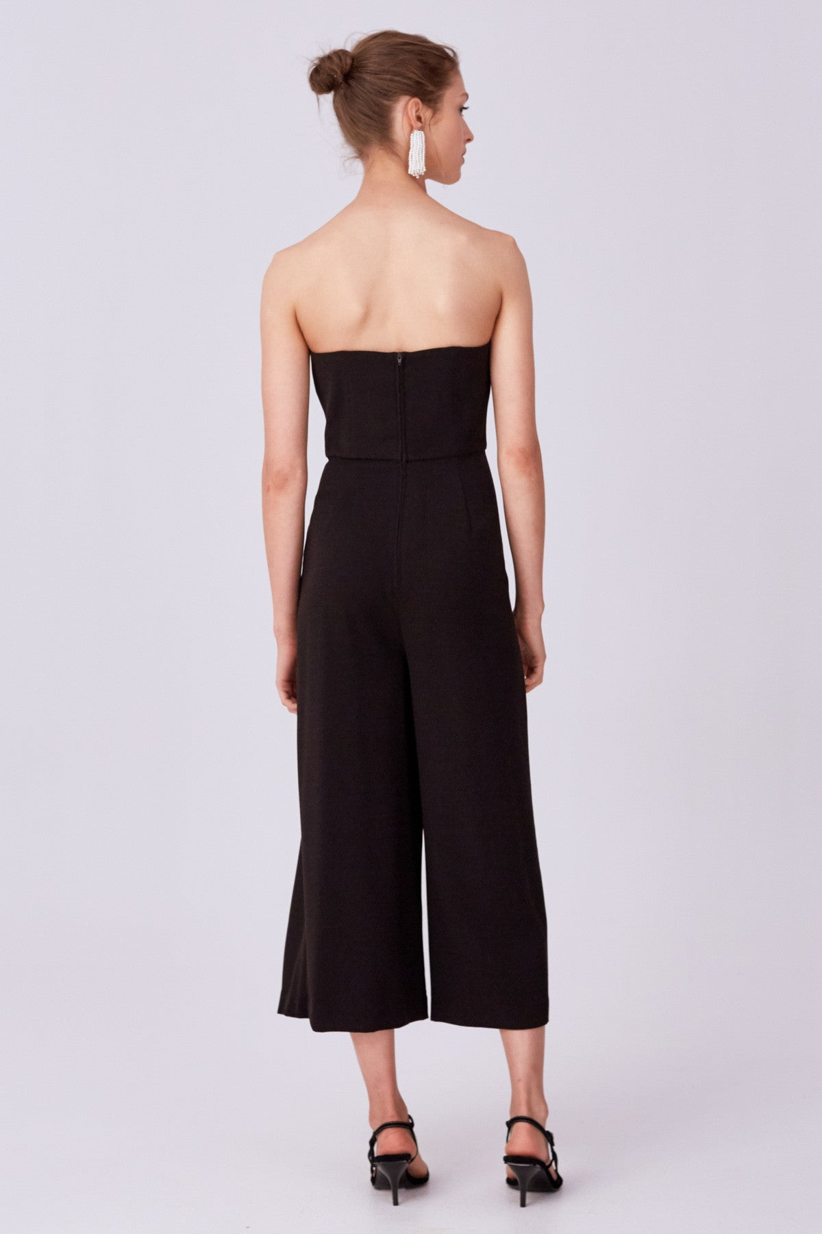 NEXT STEP JUMPSUIT black