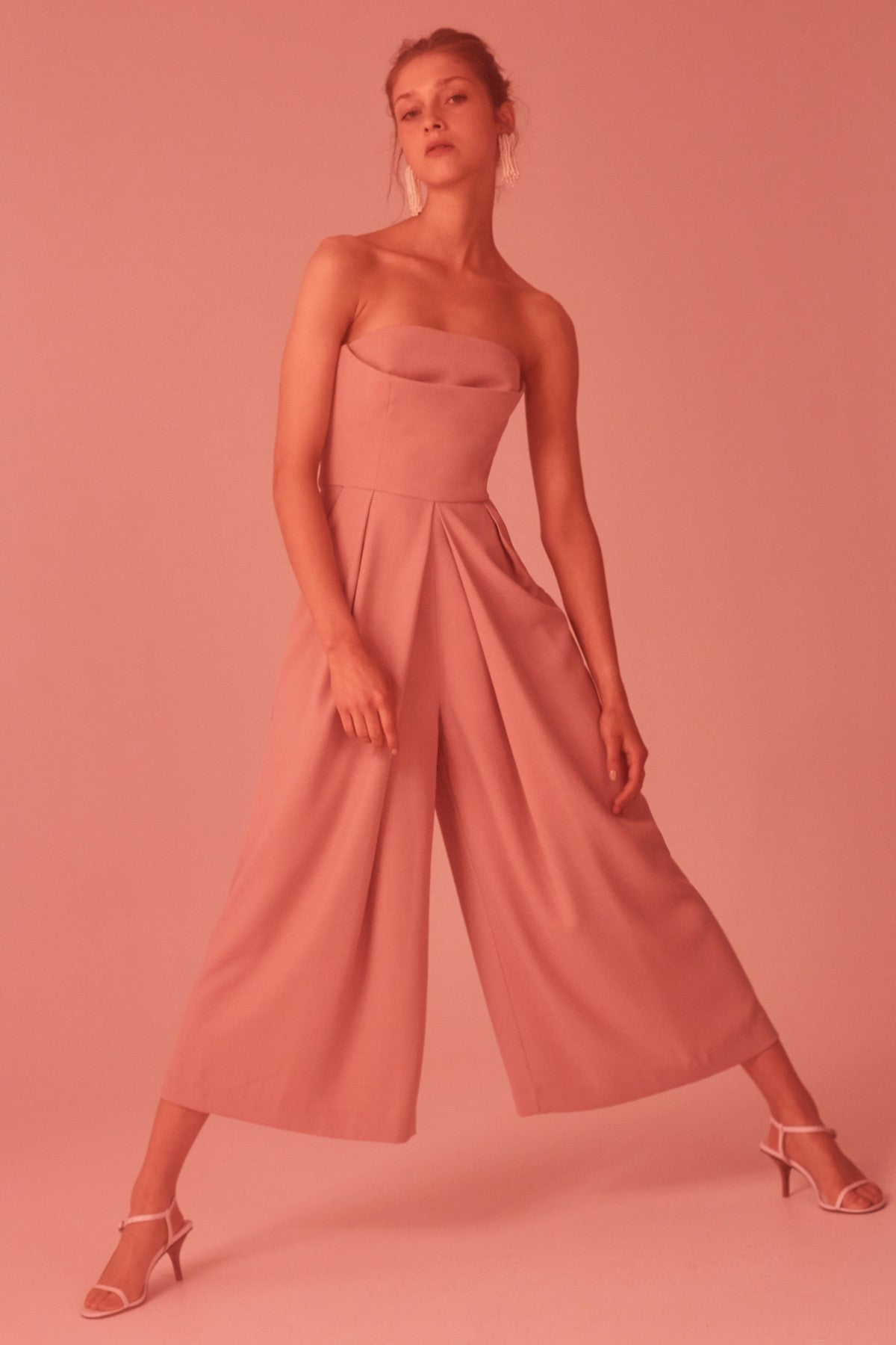 NEXT STEP JUMPSUIT dusty pink