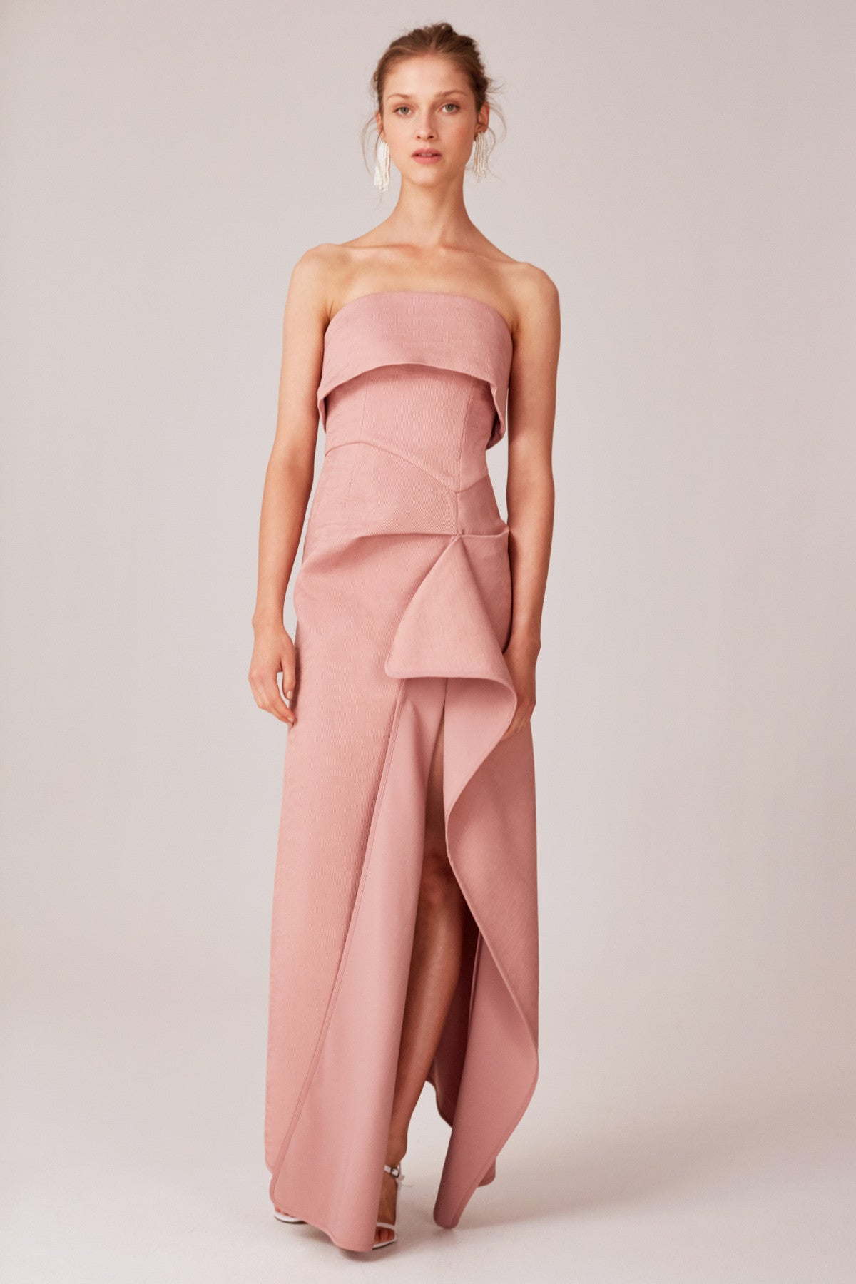 DISCRETION GOWN dusty pink
