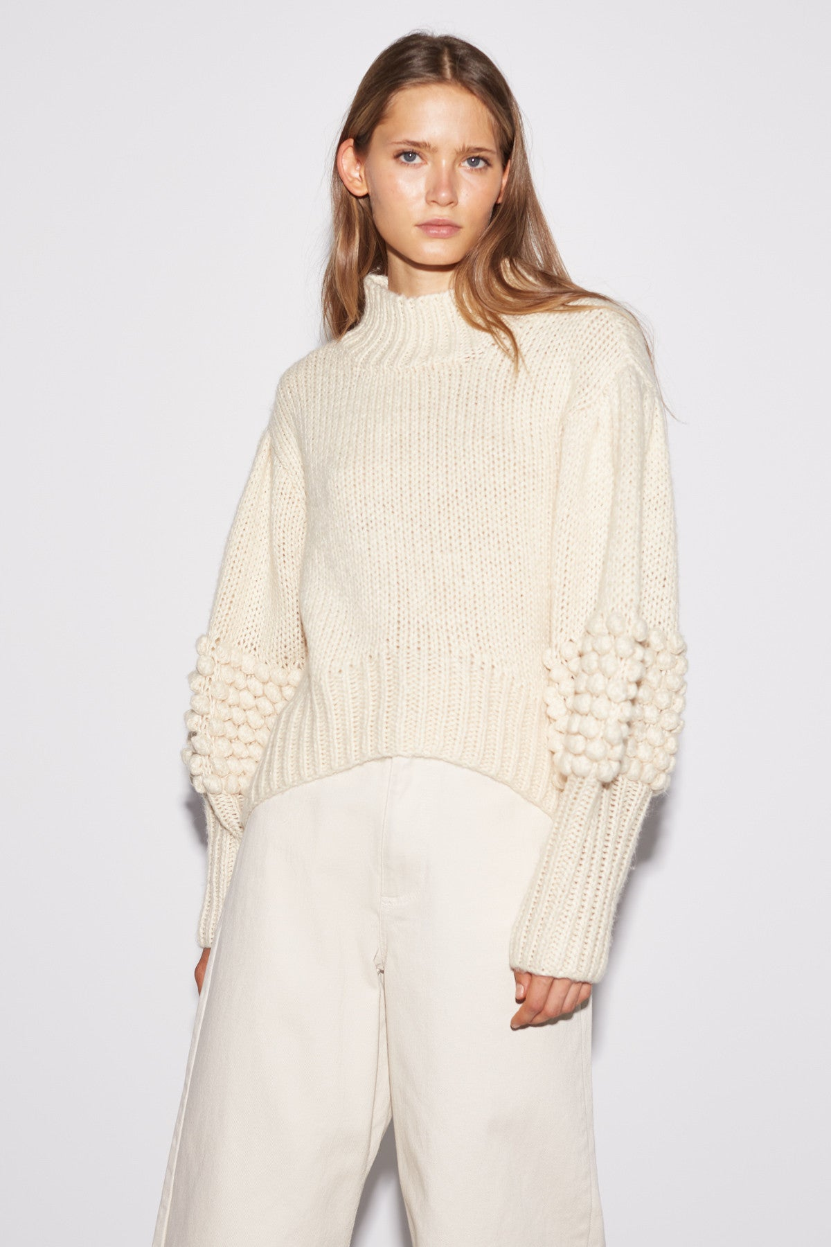 HOLD TIGHT KNIT JUMPER chalk