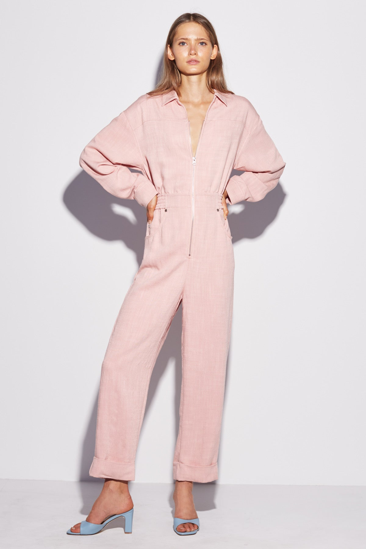 CLEAN SLATE JUMPSUIT pink