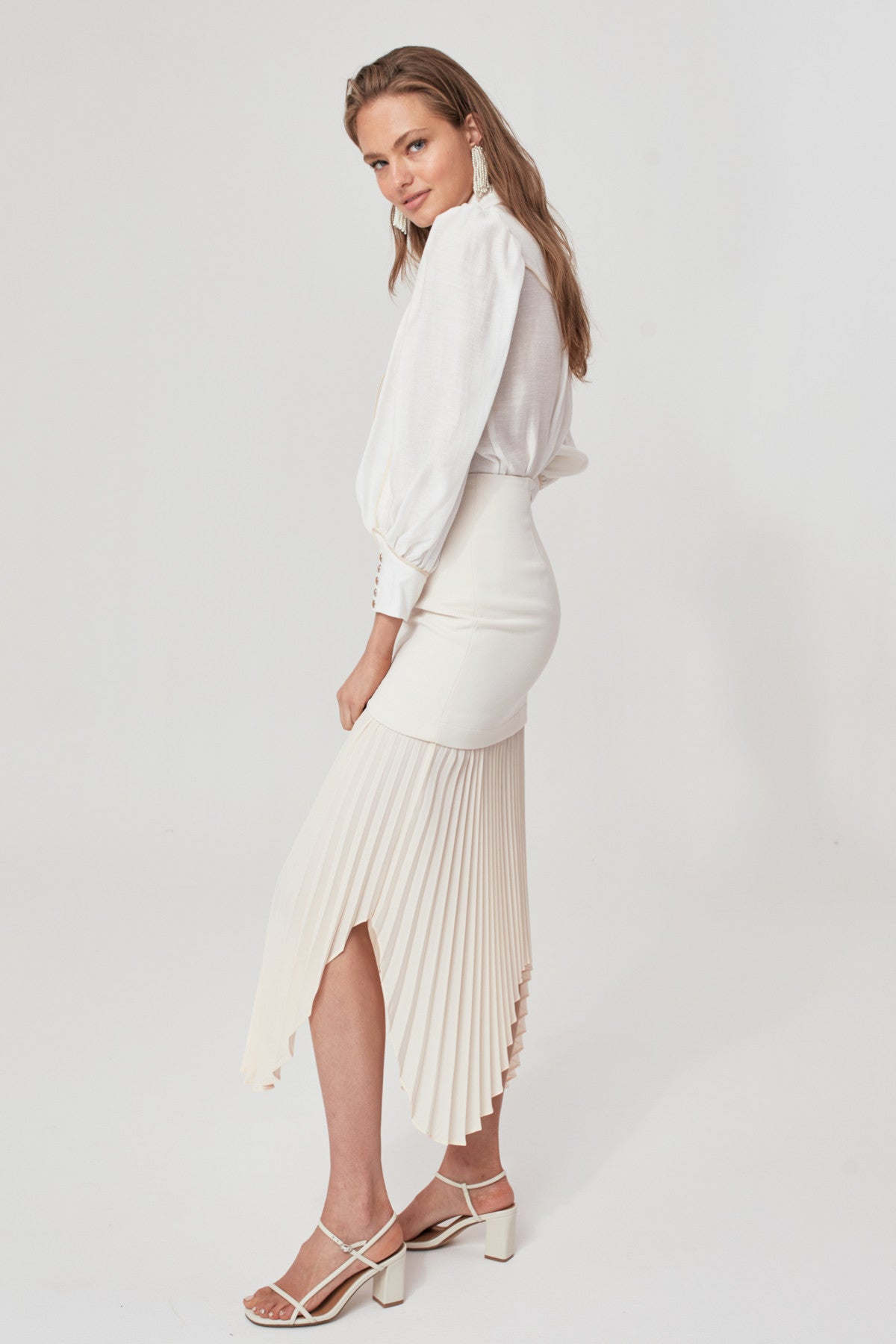 TAKE SERIOUSLY SKIRT cream