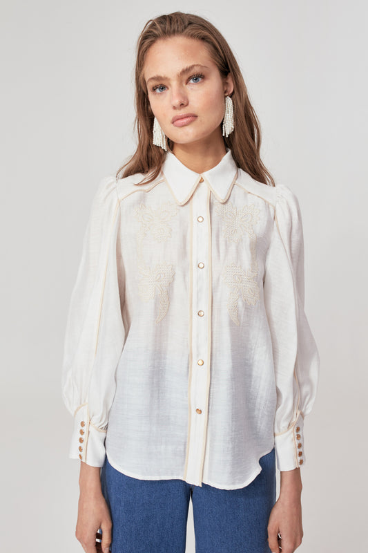 NEARBY SHIRT ivory