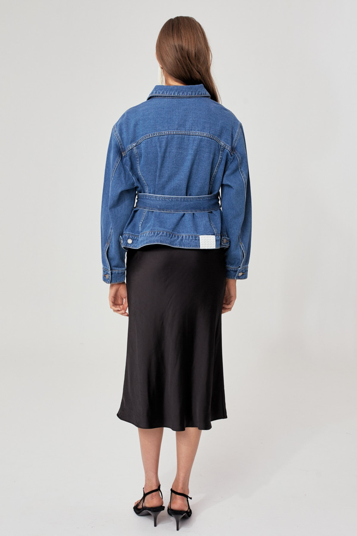 LIFETIME JACKET blue denim