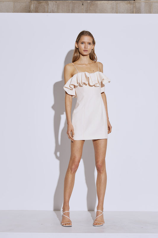 AFFINITY MINI DRESS snow