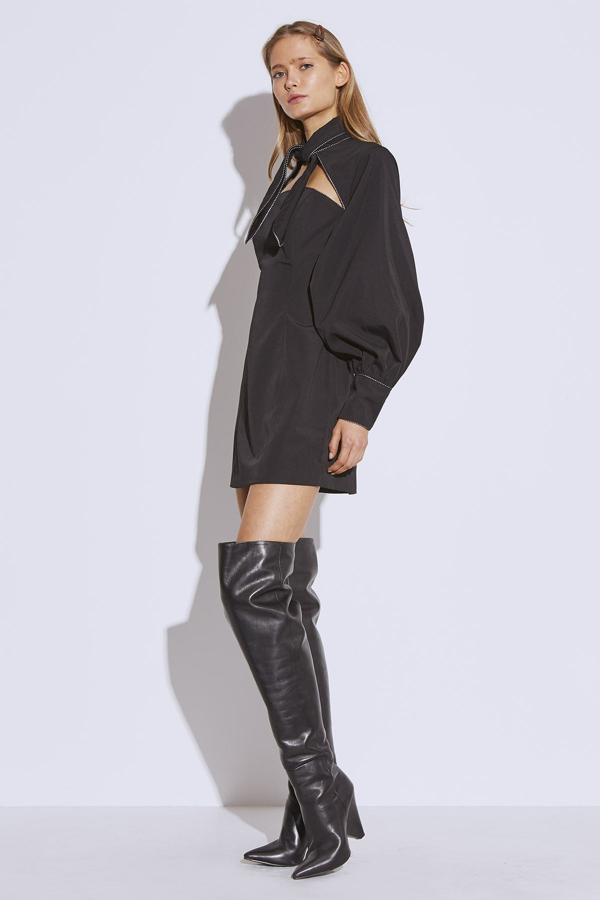 ORIGIN LONG SLEEVE DRESS black