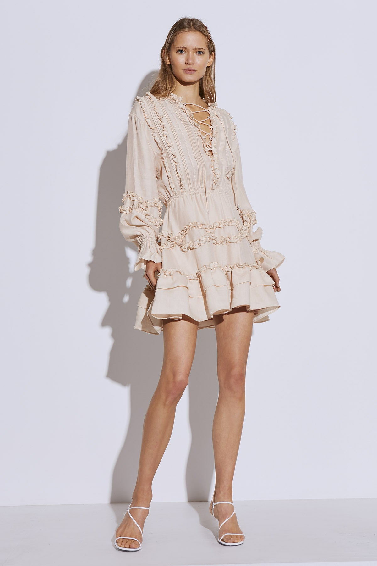 SLOW DOWN DRESS cream
