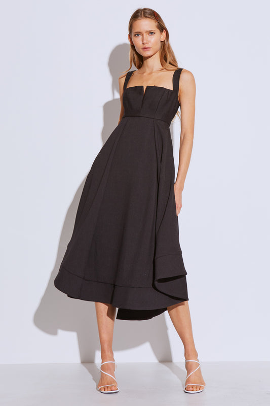 STATEMENT GOWN black