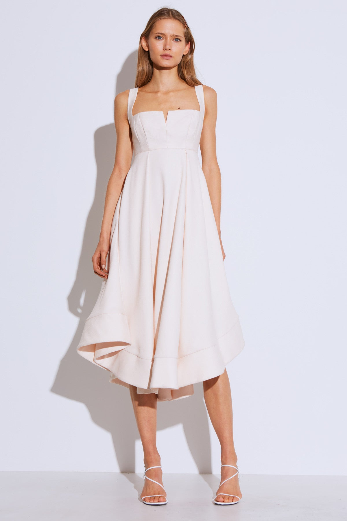 STATEMENT GOWN cream