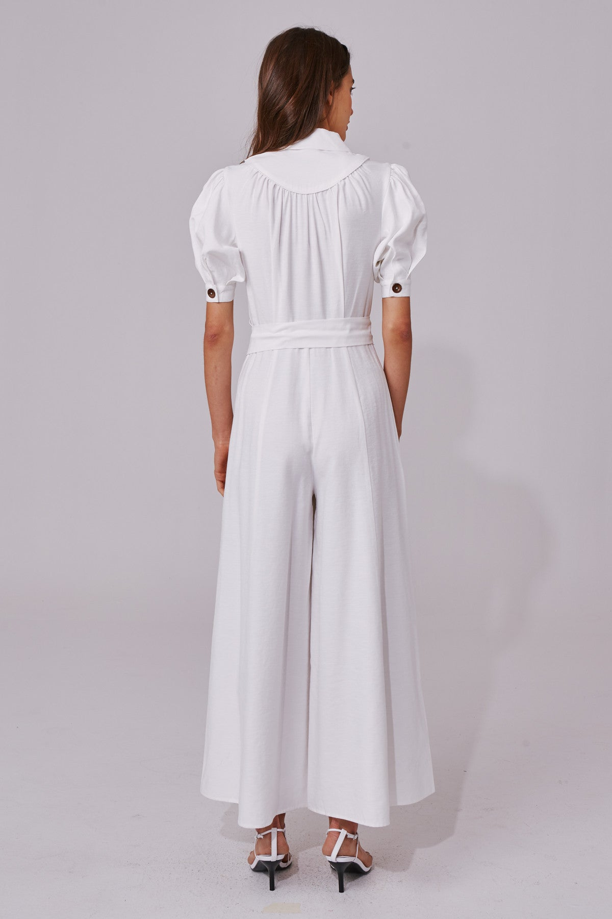 NEW PLACES JUMPSUIT ivory