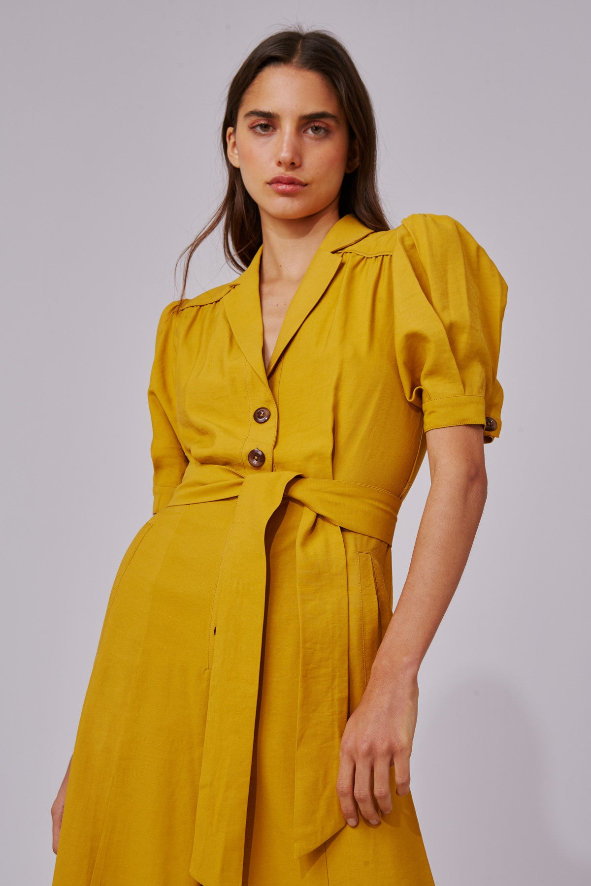 NEW PLACES JUMPSUIT marigold