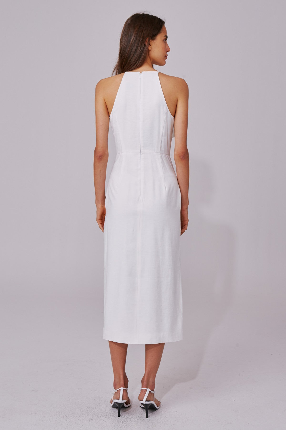 NEW PLACES DRESS ivory