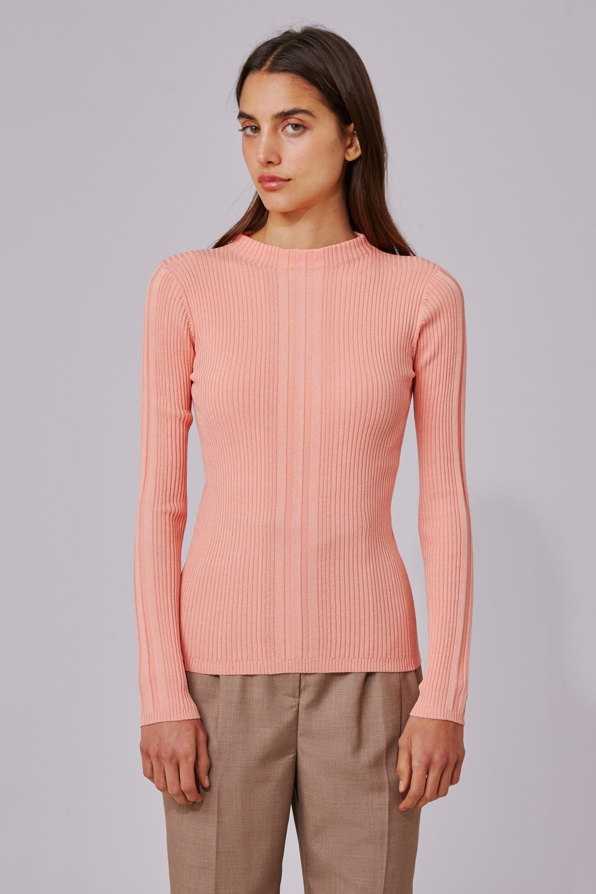 DO IT LIKE YOU KNIT TOP sherbet metallic