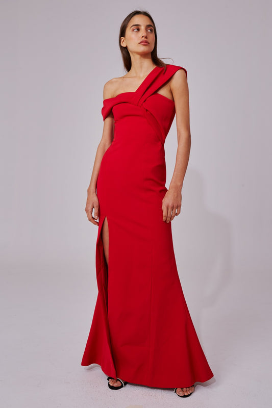 CALIBER GOWN red