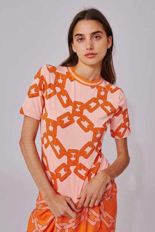 RECOMMEND T-SHIRT coral chain