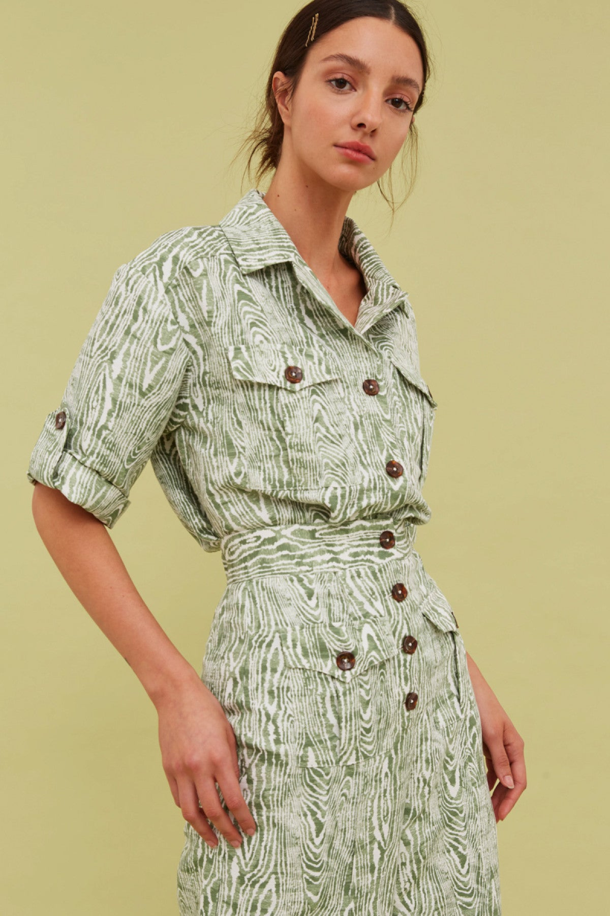 ENERGISED SHIRT ivy woodgrain