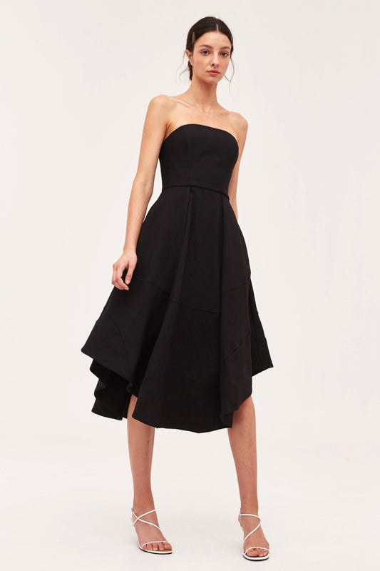 BEYOND CONTROL DRESS black