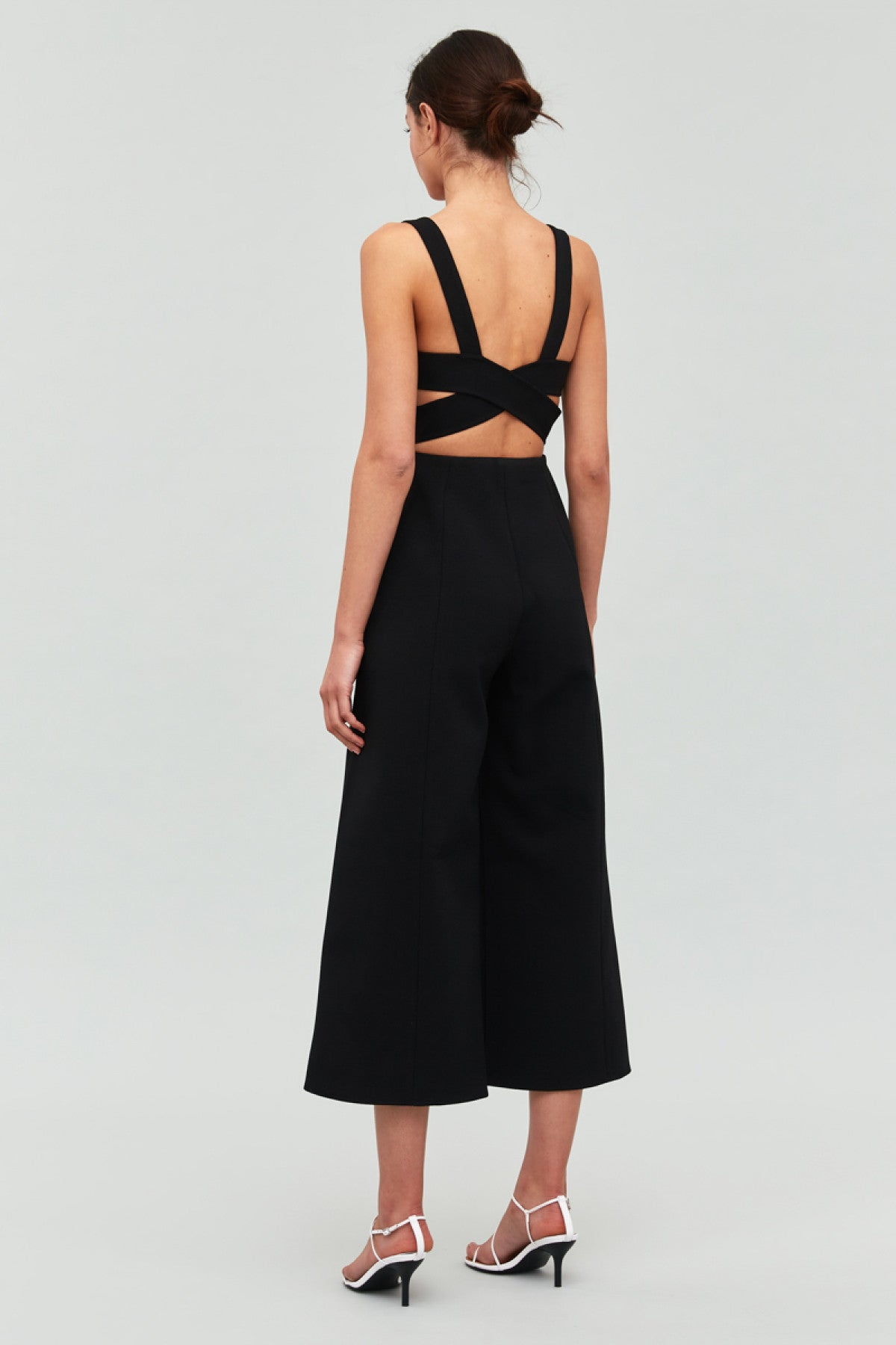 CONSUMED JUMPSUIT black
