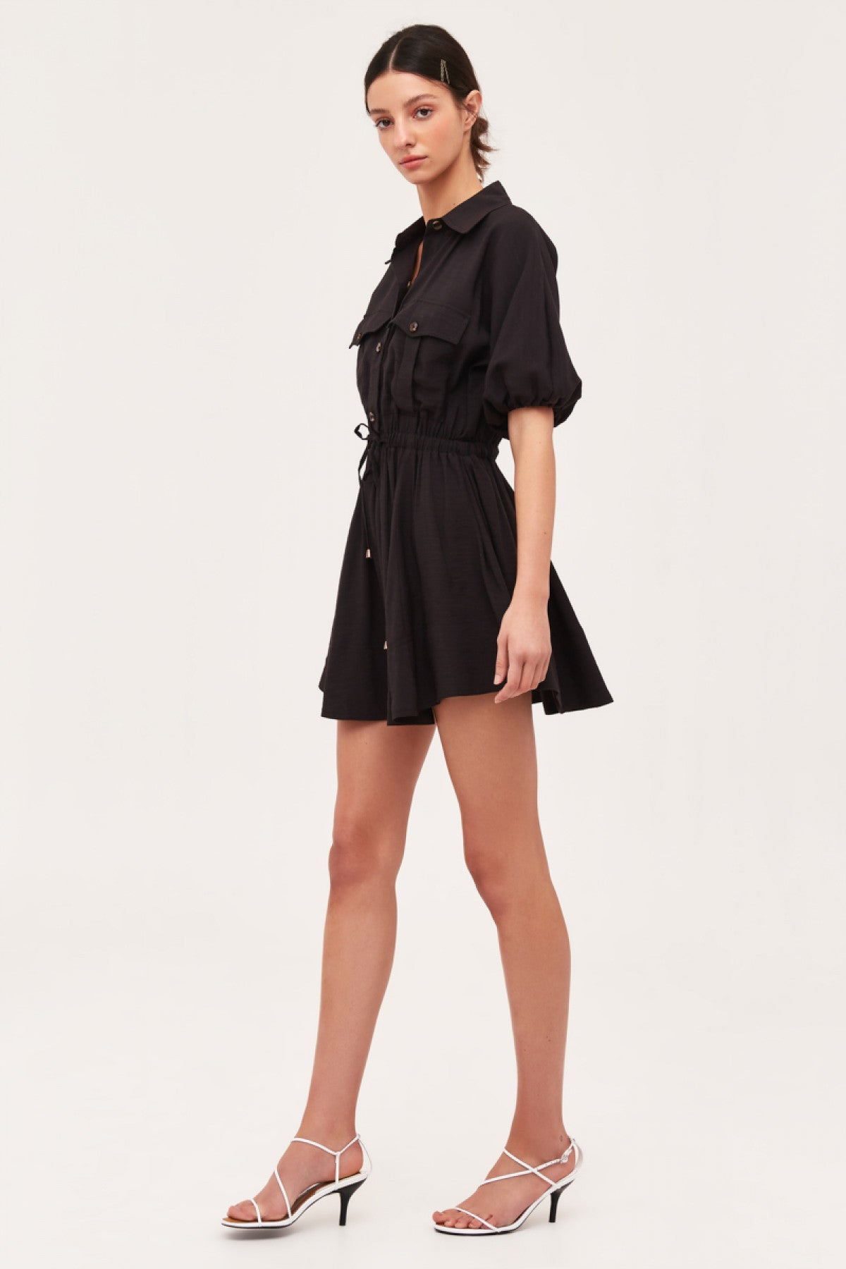 GO ON MINI DRESS black