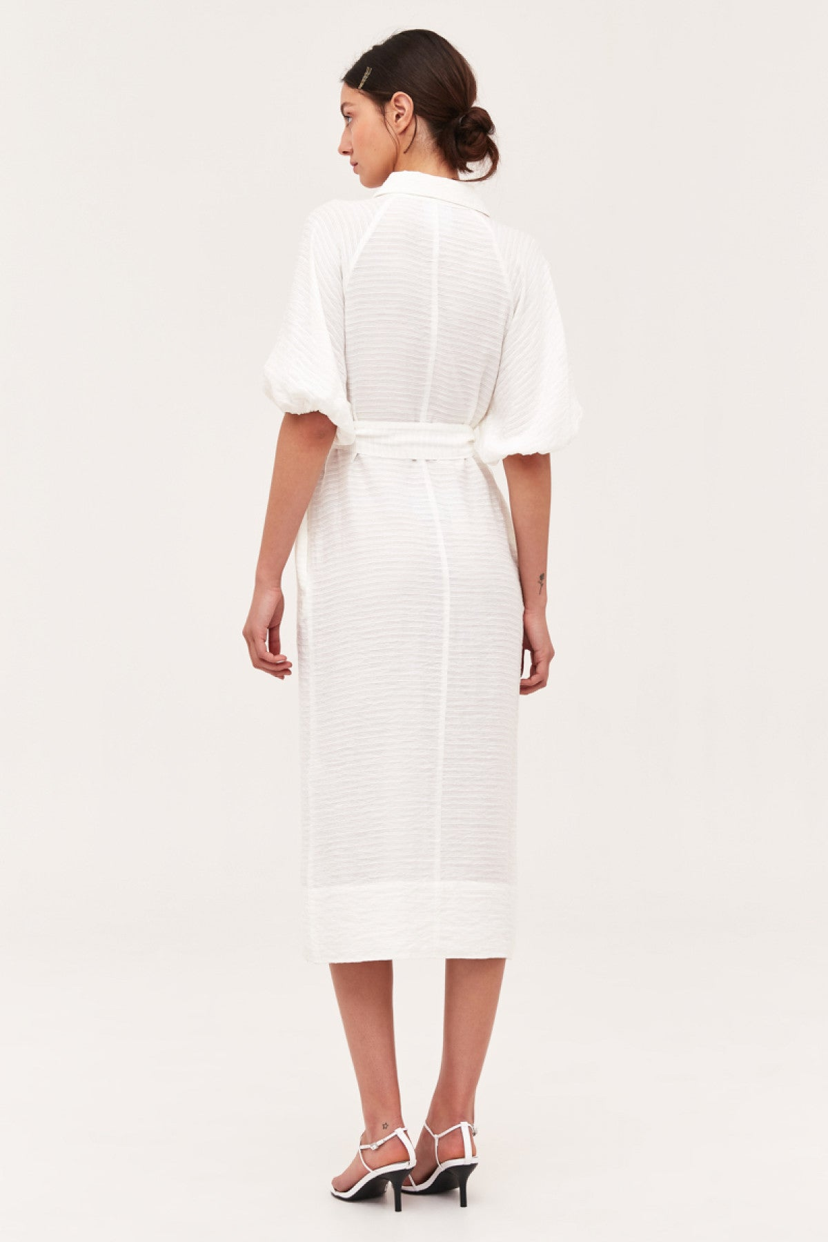 GO ON MIDI DRESS ivory