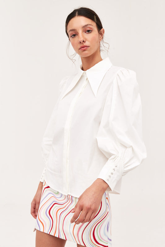 ESTEEMED SHIRT white