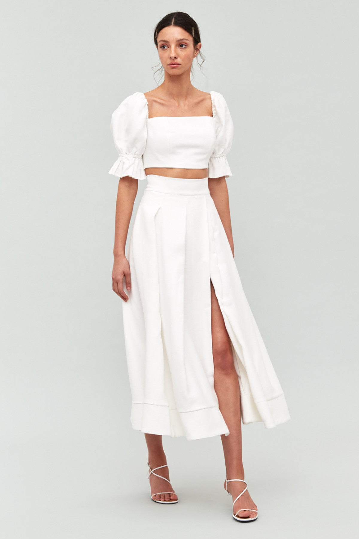 STILL FEEL SKIRT ivory