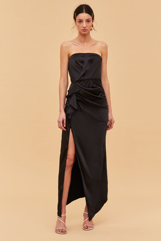 MY WAY GOWN black