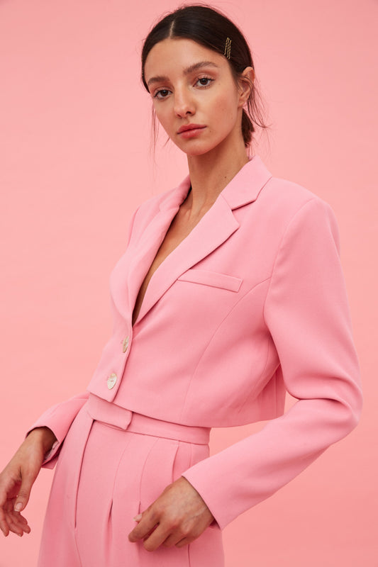 HEREAFTER BLAZER pink