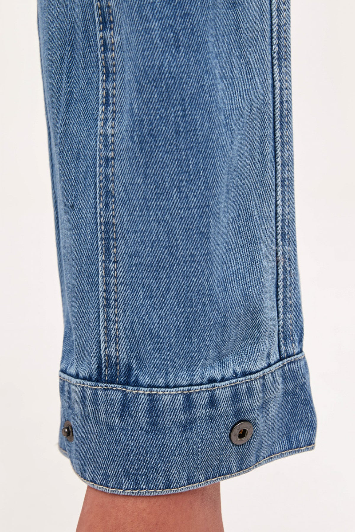PERIPHERAL JEAN blue denim