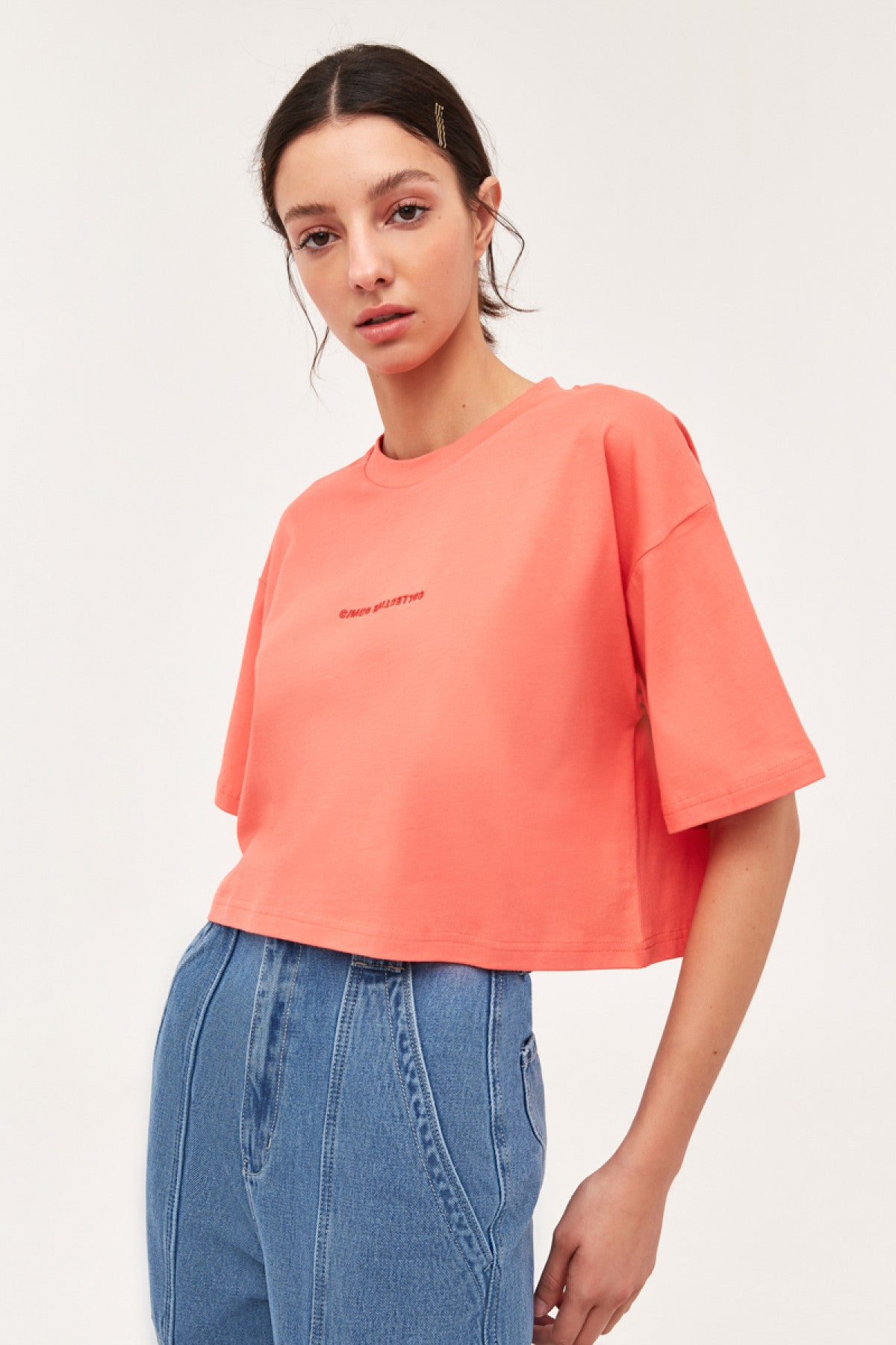 AFFECT T-SHIRT coral