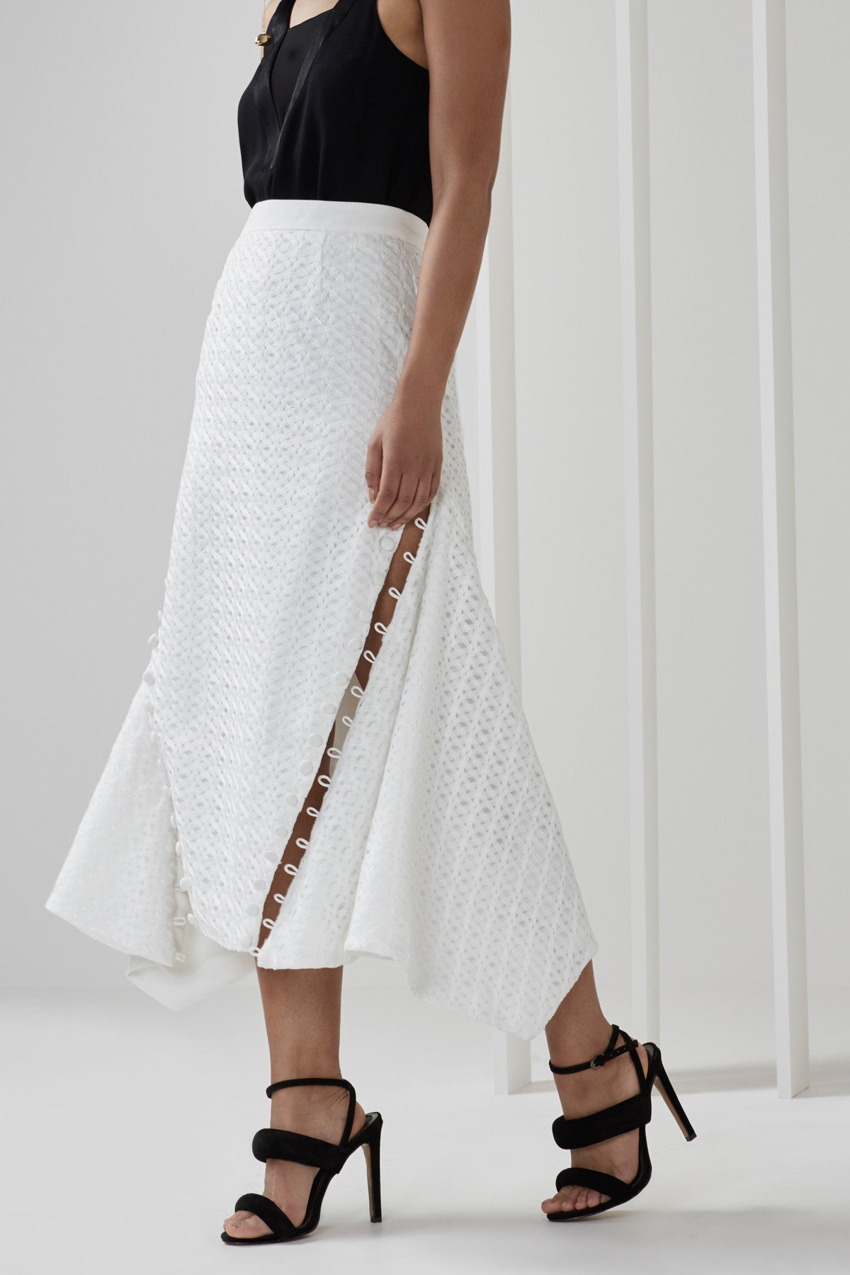 SILVER SOUNDS SKIRT ivory