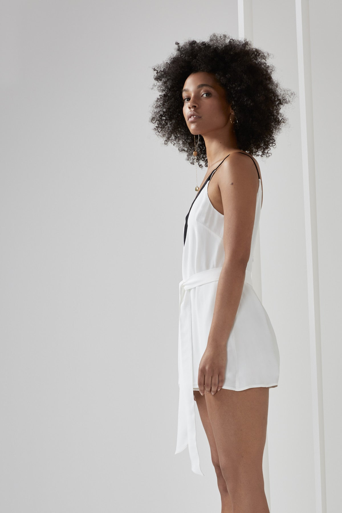 VIVID PLAYSUIT ivory