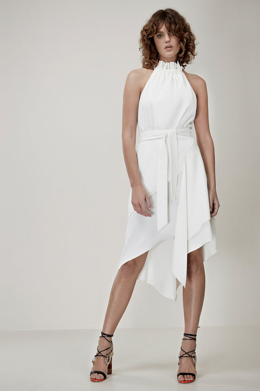 OUT OF LINE DRESS ivory