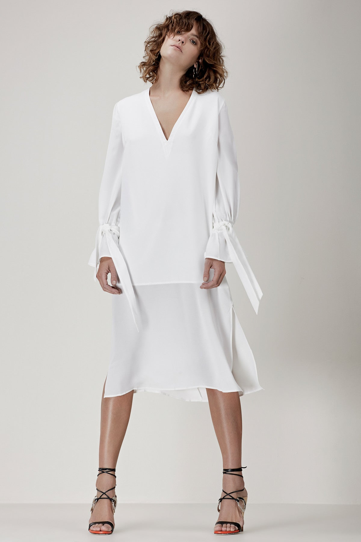 UNSTOPPABLE LONG SLEEVE DRESS ivory