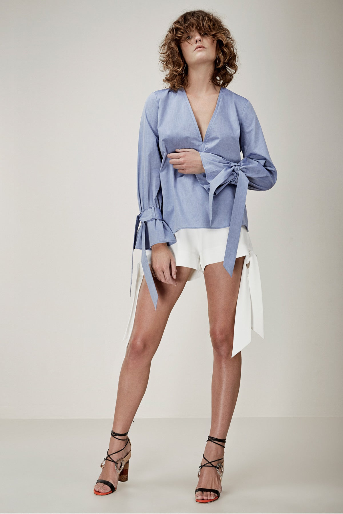 UNSTOPPABLE LONG SLEEVE SHIRTING TOP blue