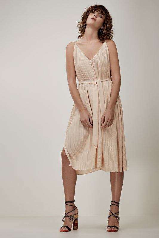 UNSTOPPABLE MAXI DRESS tan link