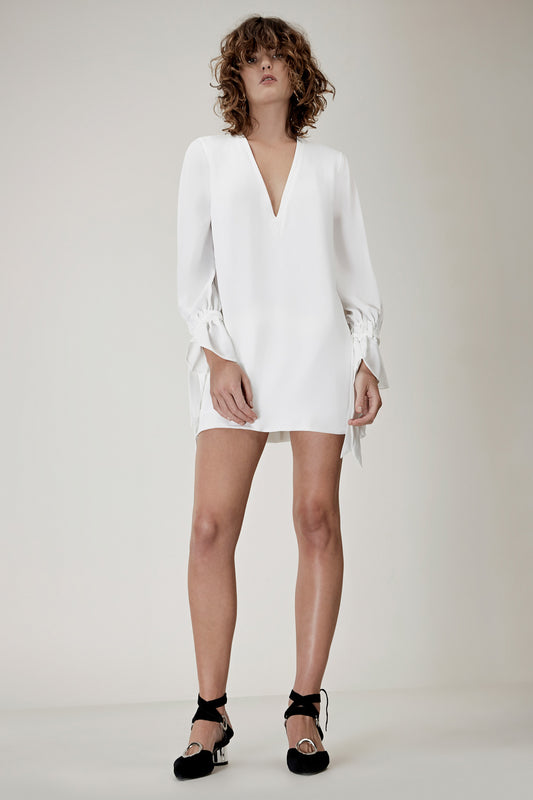 UNSTOPPABLE MINI DRESS ivory