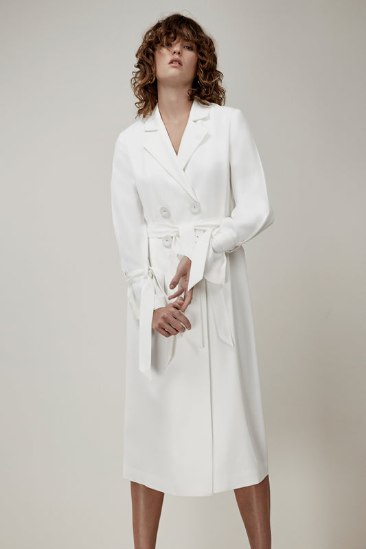 UNSTOPPABLE TRENCH ivory