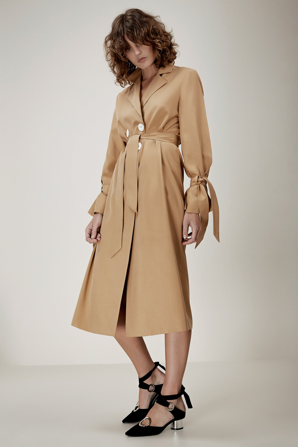 UNSTOPPABLE TRENCH tan