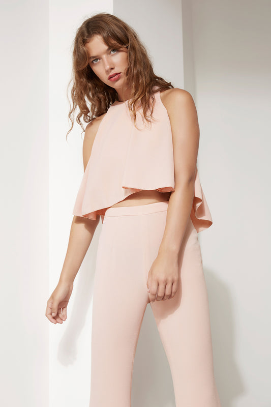 DIVERGENT TOP dusty pink