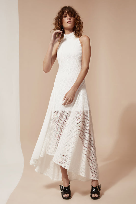 ASPIRE FULL LENGTH DRESS ivory