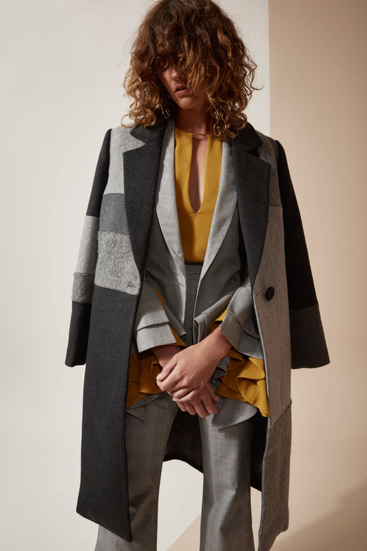 AWAKEN COAT grey