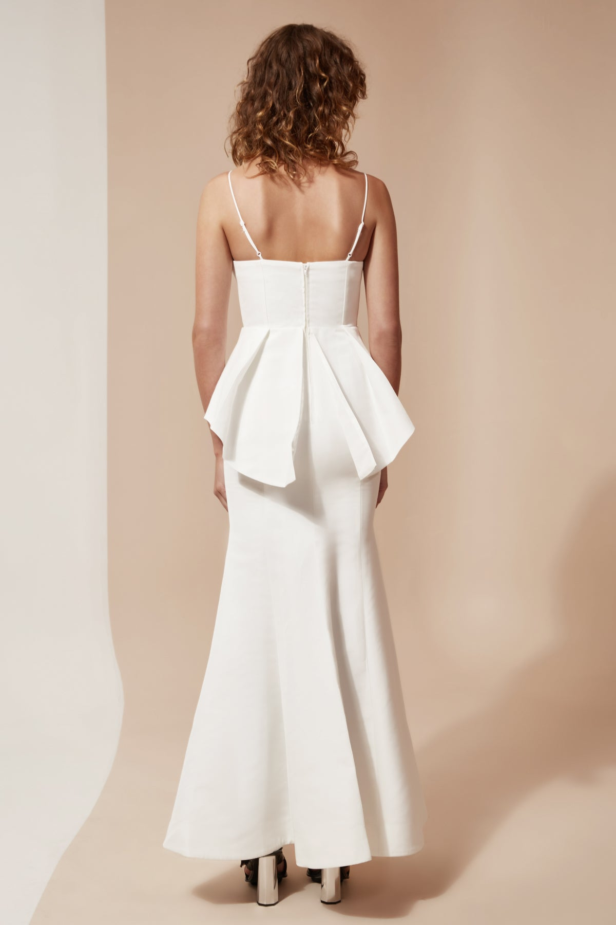 CONDUIT FULL LENGTH DRESS ivory
