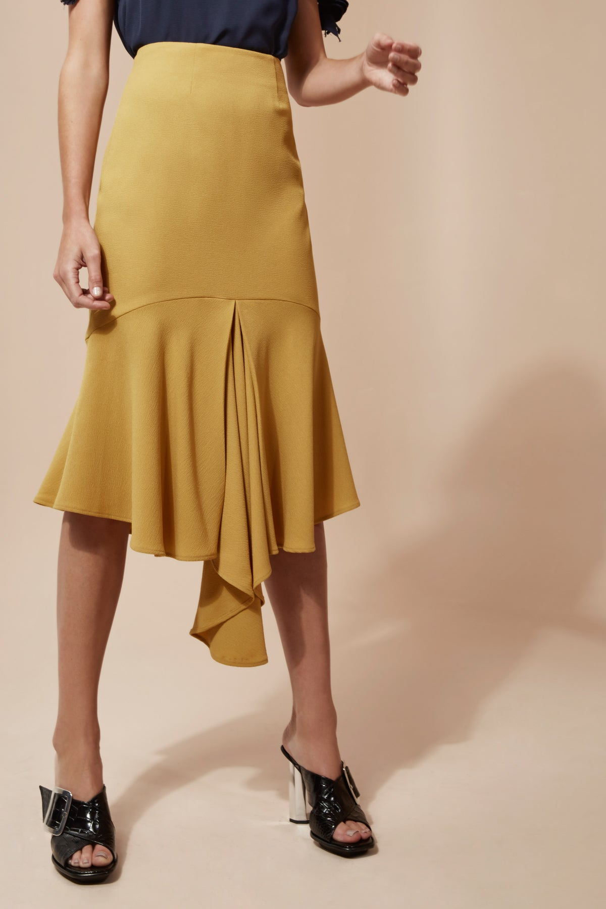FUSION SKIRT chartreuse