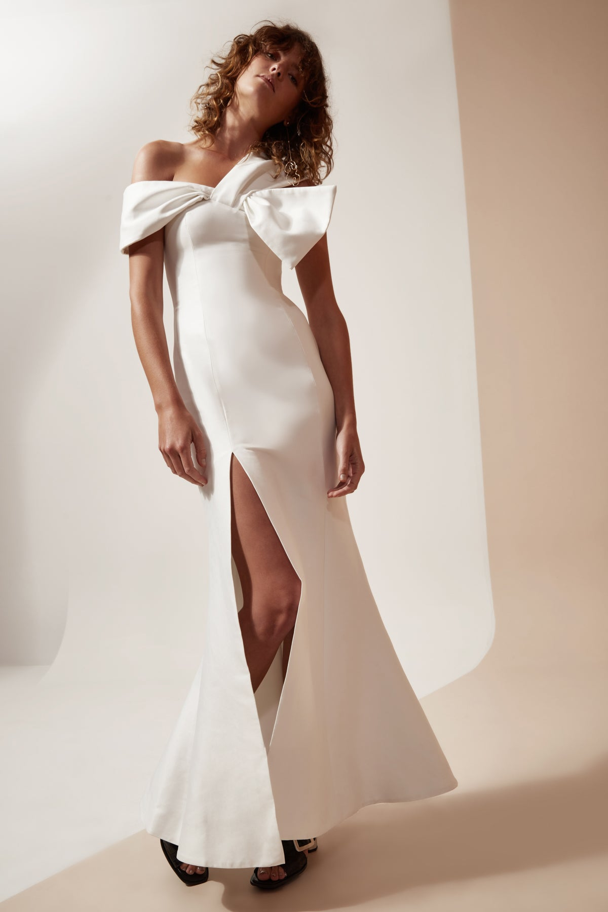 NEED YOU FULL LENGTH DRESS ivory