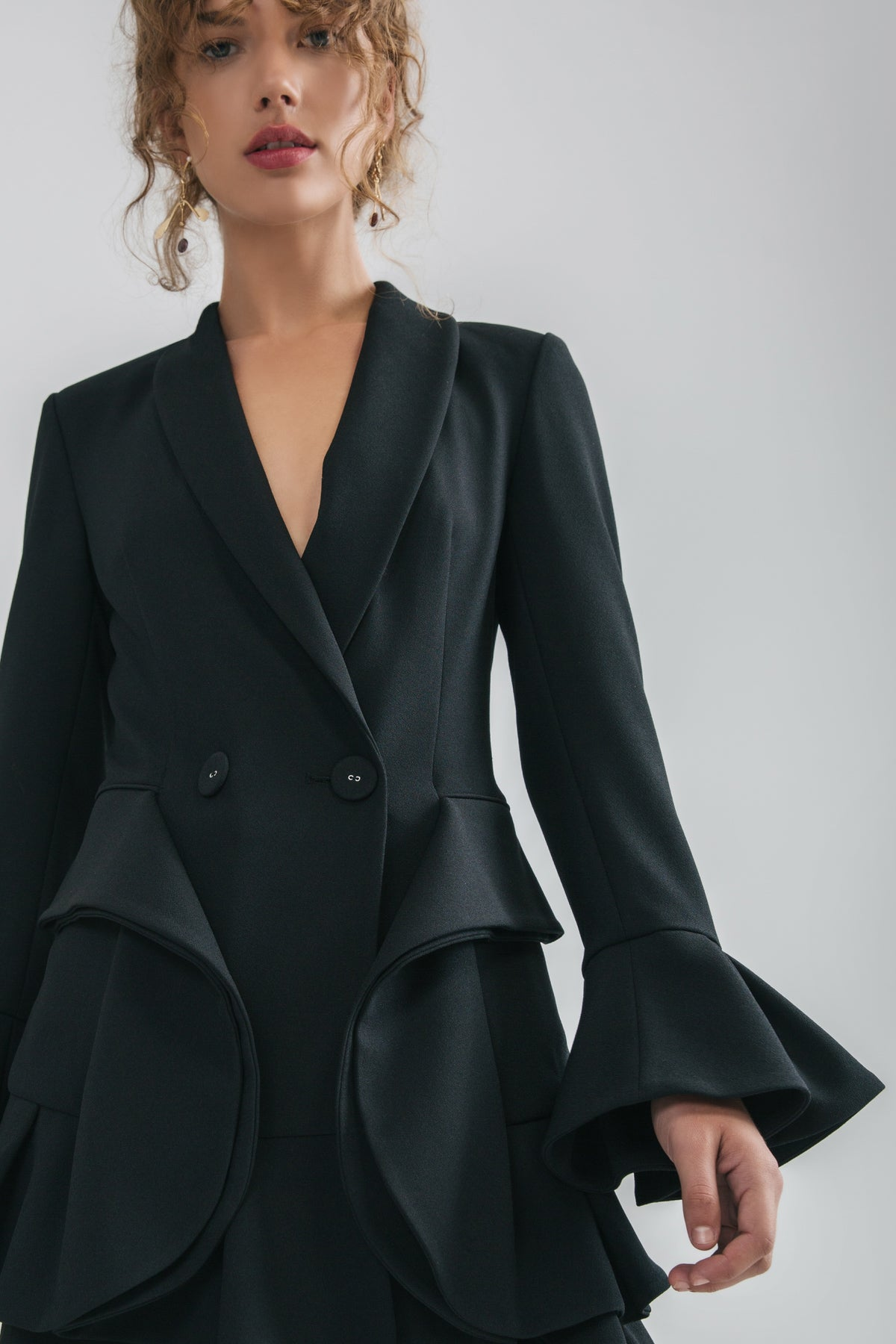 INTERMISSION BLAZER black