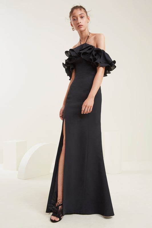 IMMERSE GOWN black