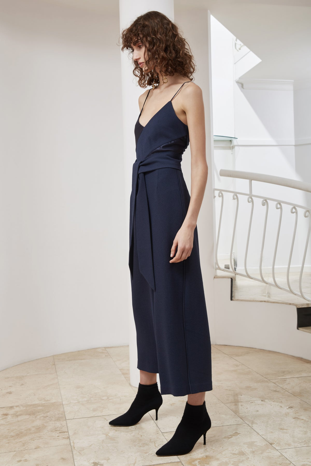TRANSLATION JUMPSUIT navy